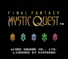 Final Fantasy: Mystic Quest (Virtual Console)