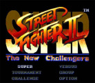 Super Street Fighter II: The New Challengers (Virtual Console)