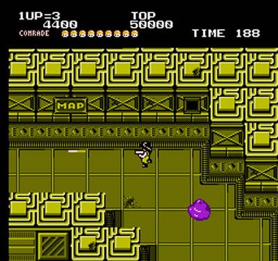 Alien syndrome review for nes 1988 defunct games for Alien syndrome