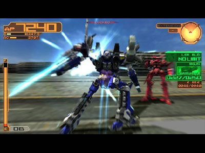 Armored Core 3 Portable Review For Psp 2009 Defunct Games