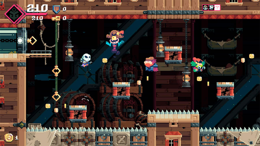 Flinthook (PlayStation 4)