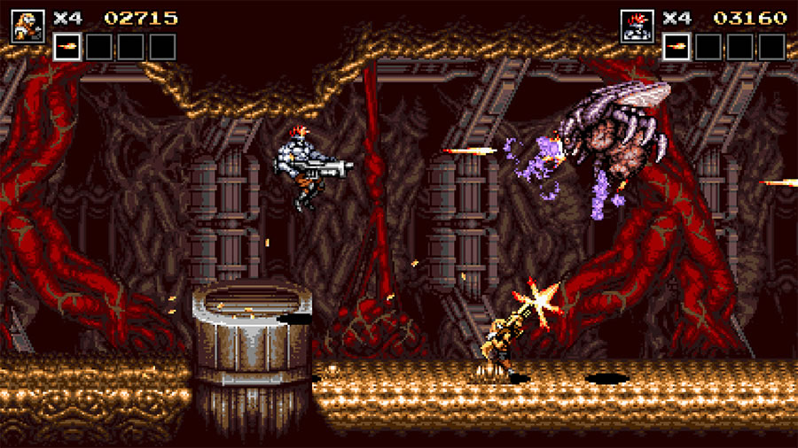 Blazing Chrome Review for Steam (2019) - Defunct Games