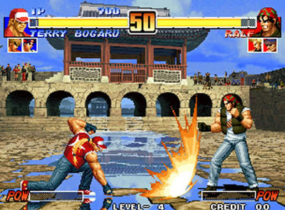 The King Of Fighters 96 Virtual Console Review For Wii 2012