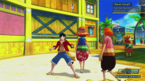 One Piece: Ultimate World Red (PlayStation 3)