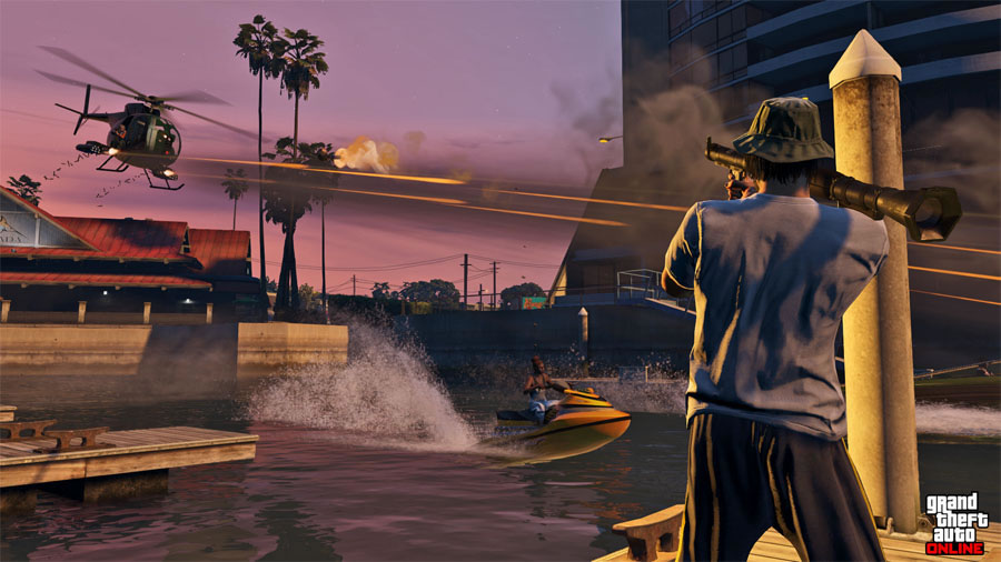 Grand Theft Auto V (PlayStation 4)