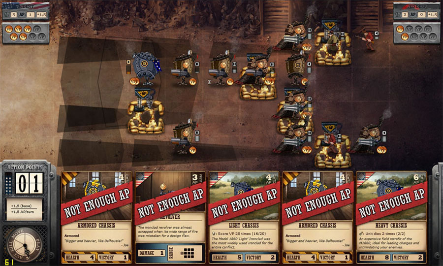 Ironclad Tactics (PlayStation 4)