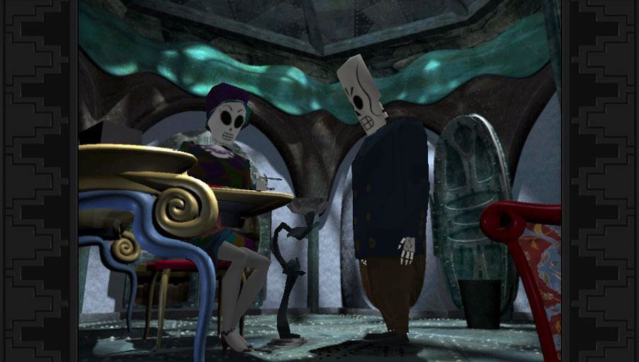 Grim Fandango Remastered (PS Vita)