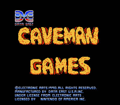 Cave Man Game