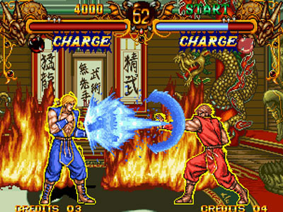Double Dragon Review For Neo Geo 1995 Defunct Games