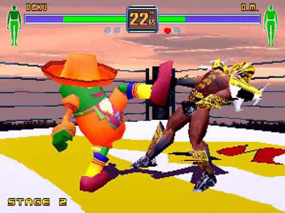 Fighters Megamix Review for Sega Saturn (1997) - Defunct Games