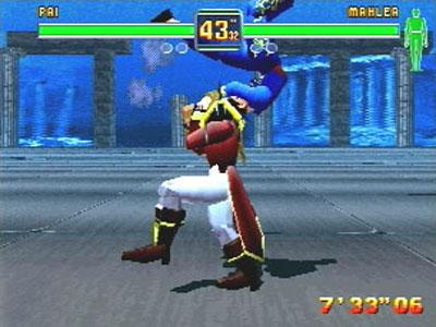 Fighters Megamix Images for Sega Saturn (1997) - Defunct Games