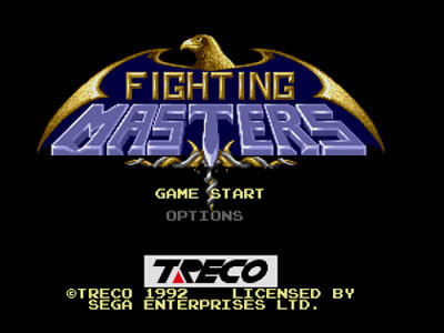 Fighting Masters Review For Genesis 1992 Defunct Games