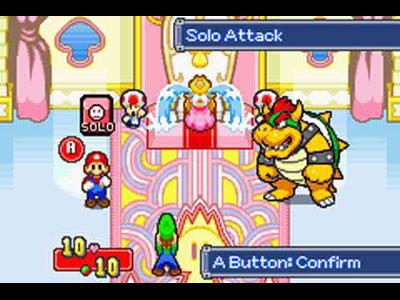 Mario Luigi Superstar Saga Review For Gba 2003