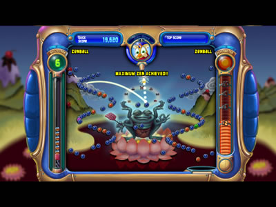Pop cap game video review peggle nights capsule computers-1443