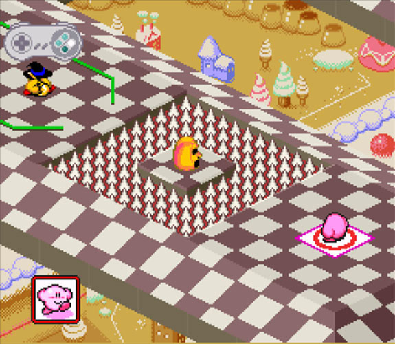 Kirby's Dream Course (Super NES)