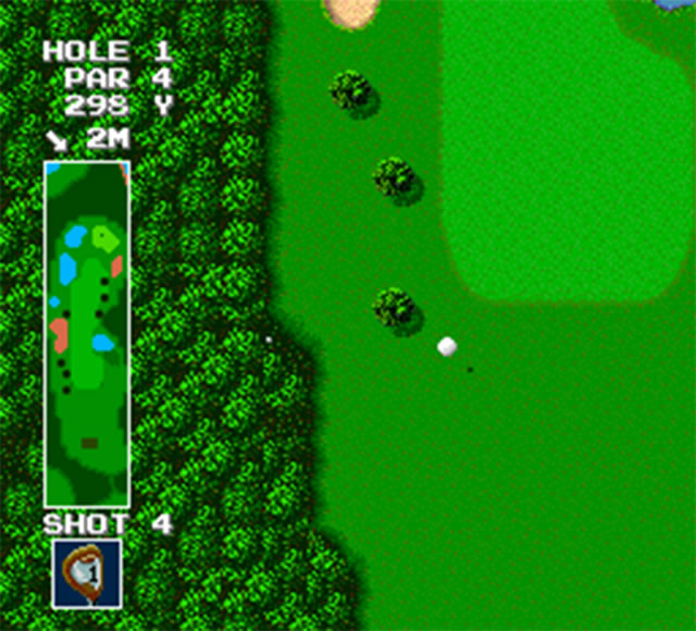 Power Golf (TurboGrafx-16)