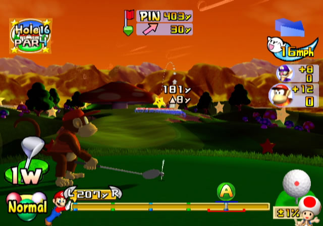 Mario Golf Toadstool Tour Review For Gamecube 2003 Defunct Games