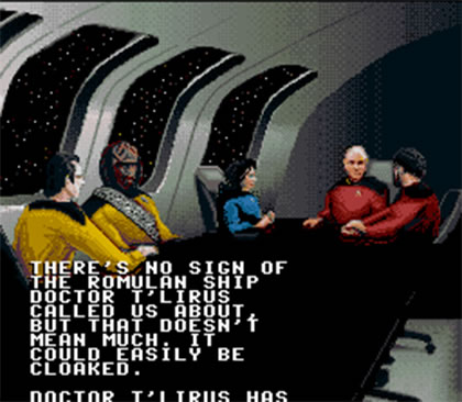 Star Trek: The Next Generation - Future's Past (Super NES)