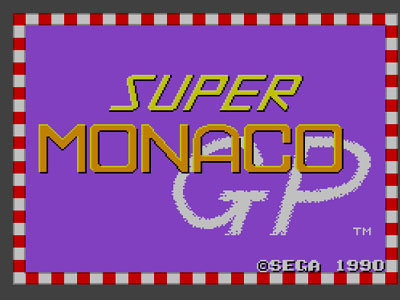 Super Monaco Gp Review For Master System 1990 Defunct
