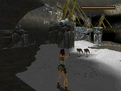 Tomb Raider Review For Sega Saturn 1996 Defunct Games