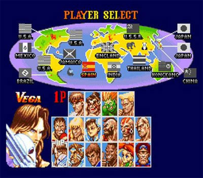 Super Street Fighter II: The New Challengers (Virtual