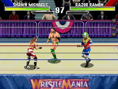 Игру на сегу wwf wrestlemania arcade