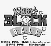 Kirby's Block Ball (Nintendo)