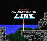 Zelda II: The Adventure of Link (Nintendo)