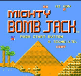 Mighty Bomb Jack (Tecmo)